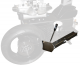 Motorradabdrückschaufel mit Arm